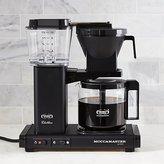 Crate & Barrel Moccamaster 10-Cup Matte Black Coffee Maker