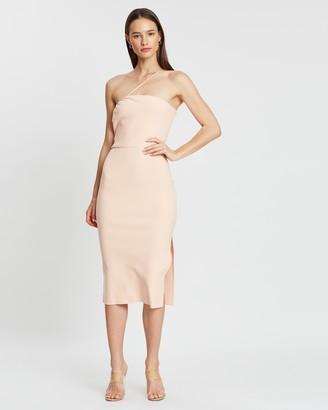 Bec & Bridge Ruby Asymmetrical Midi Dress