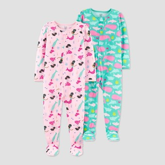 Carter's Baby Girls' Mermaid Whale Footed Pajama - Just One You® made