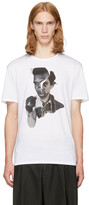 Neil Barrett White Freedom Fighters T-shirt