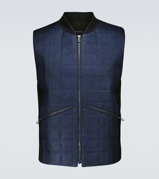 Sease Endurance quilted linen vest
