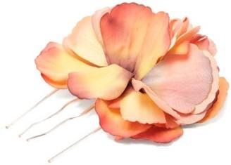 Philippa Craddock - Poppy-embellished Hairpin - Womens - Pink