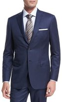 Brioni Textured Solid Wool Two-Piece Suit