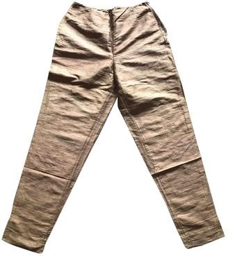 Anna Molinari Silk Trousers for Women Vintage