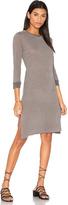Stateside Heather Stripe Midi Dress