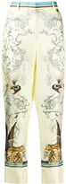 Roberto Cavalli Hybrid Animals printed trousers