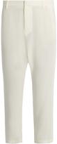 Nili Lotan Paris dropped-crotch crepe trousers