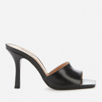 Dune Women's Mantra Leather Heeled Mules
