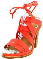 Calvin Klein Panelope Toscana Women US 5.5 Orange Sandals
