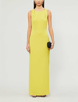 Thumbnail for your product : Whistles Tie-back crepe maxi dress