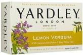 Yardley London London, Lemon Verbena with Natural Shea Butter & Pure Citrus Oil, 4.25 Ounces /120 G (Pack of 8)