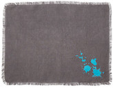 Jonathan Adler Turquoise/Grey Drip Placemat