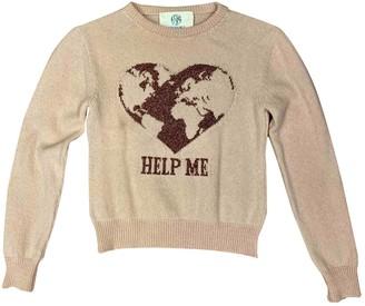 Alberta Ferretti Ecru Cashmere Knitwear for Women