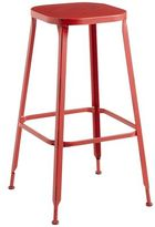 Pier 1 Imports Weldon Backless Bar Stool - Red