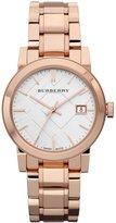Burberry Watch, Women's Swiss Rose Gold Tone Stainless Steel Bracelet 34mm BU9104