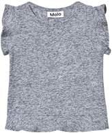 Molo Rabia T-shirt In Hazy Blue Melange