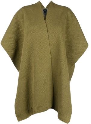 Voz short-sleeve flared cardi-coat