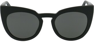 Mykita X Maison Margiela Cat Eye Frame Sunglasses
