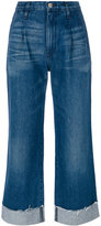3x1 high-rise flared jeans - women - Cotton - 23