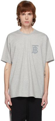 Burberry Grey Emerson Monogram T-Shirt