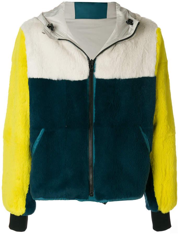 Yves Salomon reversible hooded jacket