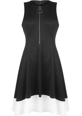 DKNY Occasion DKNY Zip Detail Dress