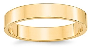 Bloomingdale's Men's 4mm Lightweight Flat Band Ring in 14K Yellow Gold - 100% Exclusive