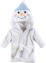 Hudson Baby Bath Robes Snowman - Snowman Plush Bathrobe - Newborn