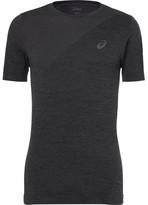 Asics Mesh-panelled Motiondry T-shirt - Gray