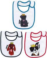 Dolce & Gabbana dog print bib set