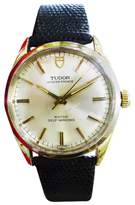 Tudor 7987/5 Stainless Steel & Leather Vintage Automatic 34mm Mens Watch 1971