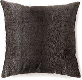 Asstd National Brand Knox Large Black Decorative Square Throw Pillow