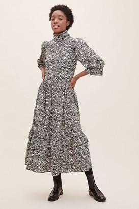 Meadows Clematis Midi Dress