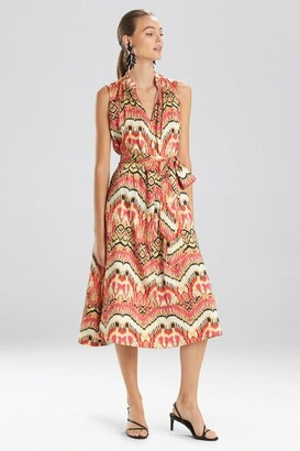 Natori Suzani Mandarin Dress