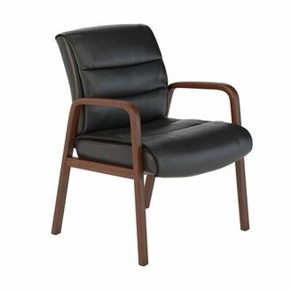 Bush Business Furniture Soft Sense Leather Guest Chair