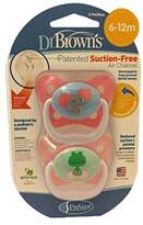 Dr Browns Dr. Brown's PreVent Butterfly Pacifiers - Blue (6-12 Months)
