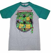 Nickelodeon Teenage Mutant Ninja Turtles Raglan Graphic T-Shirt