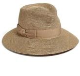 Eric Javits Women's 'Phoenix' Packable Fedora Sun Hat - Beige