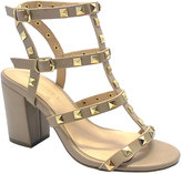 Wild Diva Natural Studded Susie Sandal