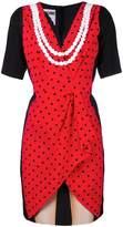 Moschino illusion print dress