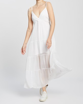 Abercrombie & Fitch Eyelet Midaxi Dress