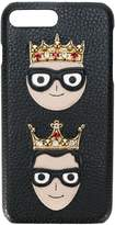 Dolce & Gabbana crown patch iPhone 7 Plus case