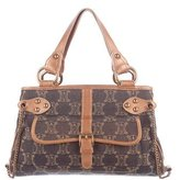 Celine Metallic Denim Handle Bag