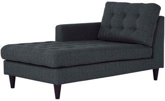 Modway Empress Left-Arm Upholstered Fabric Chaise