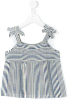 Nice Things Striped Top - kids - Cotton/Viscose/Linen/Flax - 4 yrs