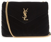Saint Laurent Loulou velvet shoulder bag