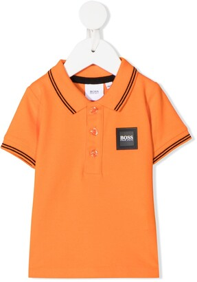 Boss Kidswear Logo-Patch Polo Shirt