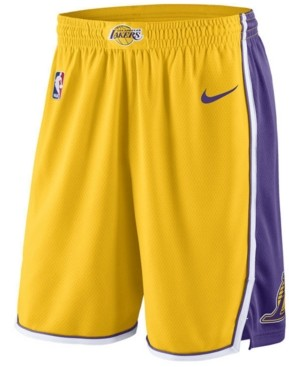 Nike Men's Los Angeles Lakers Icon Swingman Shorts