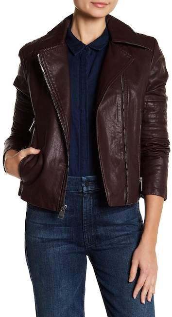 Levi's Faux Leather Asymmetrical Moto Jacket