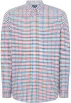 Howick Men's Long Island Multi Gingham Long Sleeve Shirt